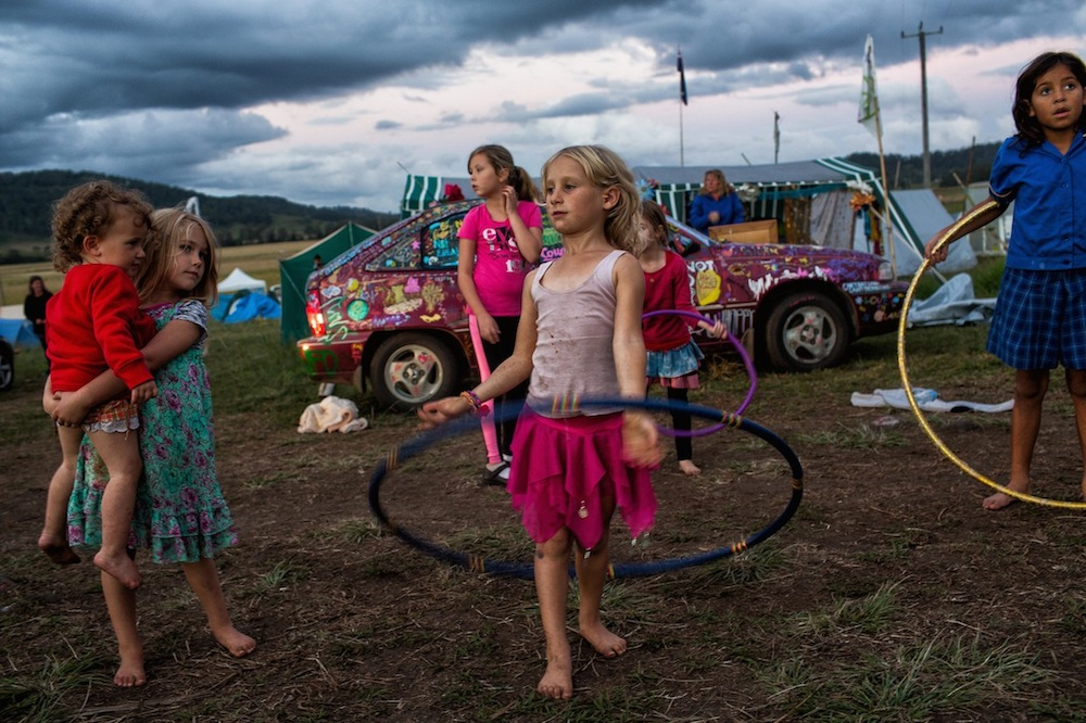 Natalie Grono's Children of the Tribe was a finalist in the 2014 Australian Life photographic competition.