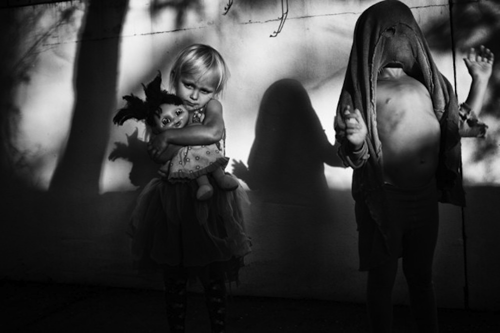 Lennox Head photographer Natalie Grono's won the 2015 Olive Cotton award with 'Pandemonium's Shadow'.