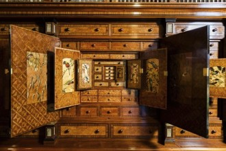 The 'Hannah Cabinet' - Geoff Hannah's $1.5million cabinet.