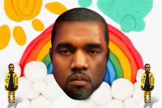 Sad Kanye - by The Hungry Castle.